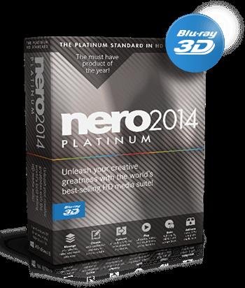 Nero 2014 Platinum + Blu-ray + 3D