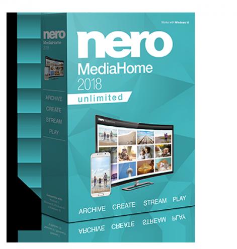 Nero MediaHome 2018