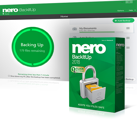 Nero BackItUp 2018