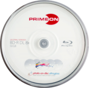 BD-R DL 50GB Primeon - 10er Spindel