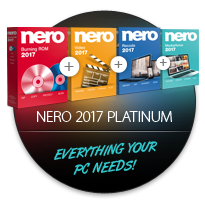 Nero 2017 Platinum - the right choice
