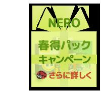Nero 春得パックキャンペーン終了間近!