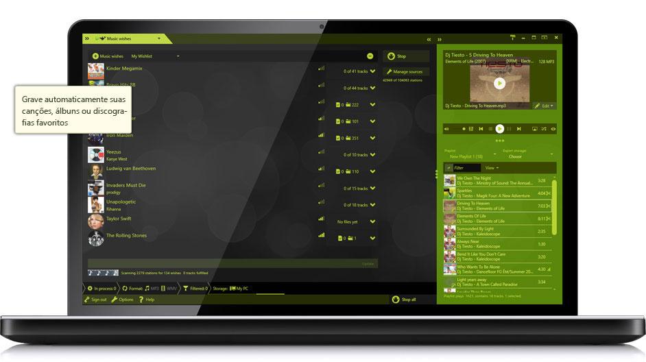 Music Recorder - Milhões de canções e vídeos musicais