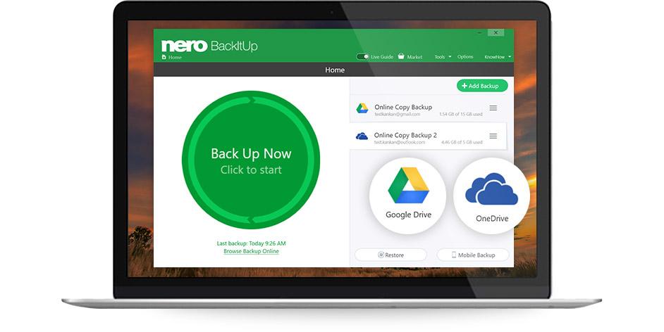 Nero 2019 Platinum Suite - Nero BackItUp 2019