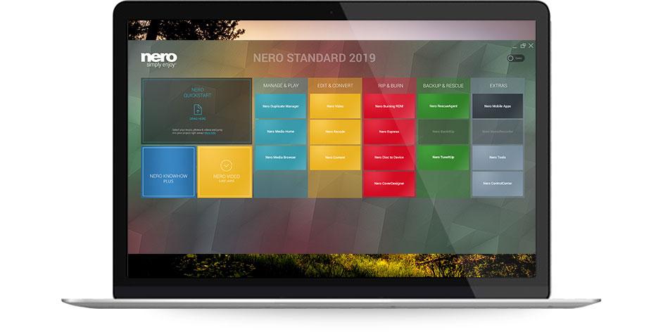 Nero 2019 Standard Suite - Launcher
