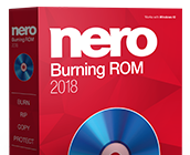 Nero Burning ROM 2018 box